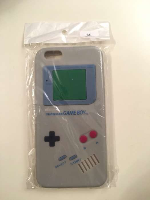 Carcasa silicon iphone 6 6s nintendo gameboy