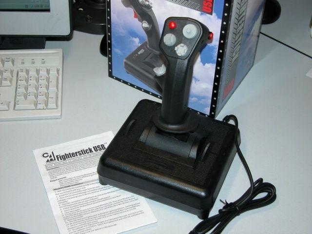 Джойстик CH Fighterstick для авиасимулторов