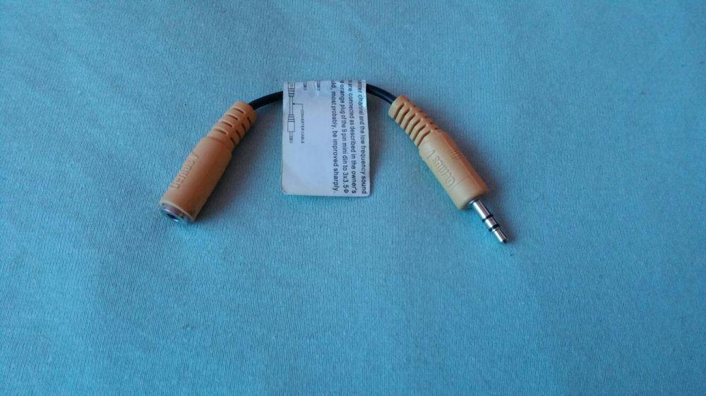 Cablu convertor Genius jack (female to male/mama la tata)