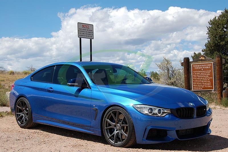 Grile Duble Centrale BMW Seria 4 F32 F33 Negru Lucios Import Germania