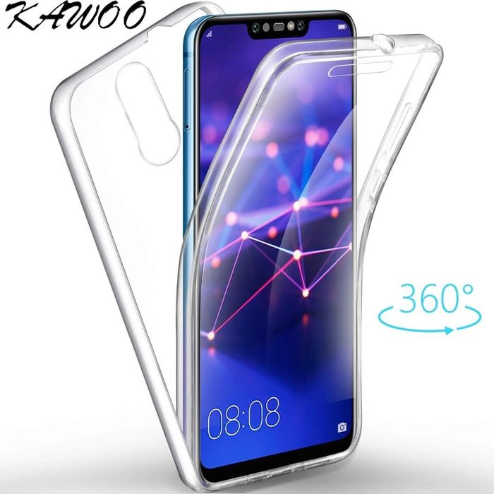 Huawei Mate 20 Lite 20 Pro Husa 360 Slim Plastic Fata Spate Lateral