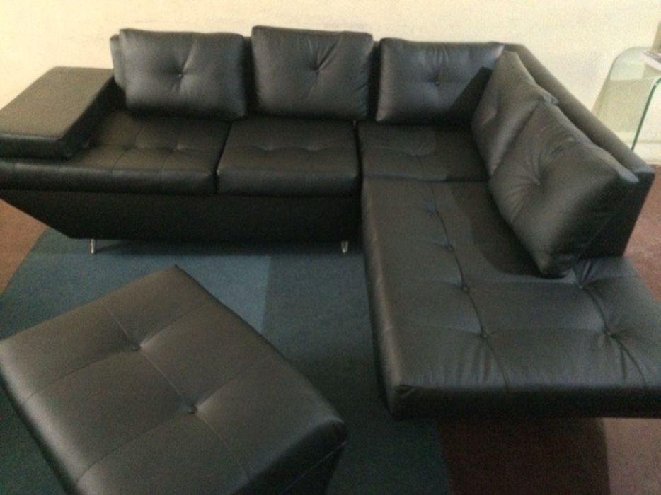 Sofa tipo L Gwneva com anexo