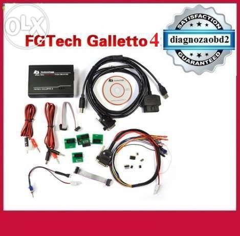 Programator FGTech V54 tuning tester auto Galletto 4 2 EOBD2 BDM
