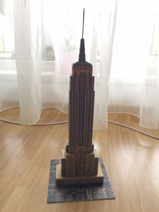 Empire State Building - puzzle 3D