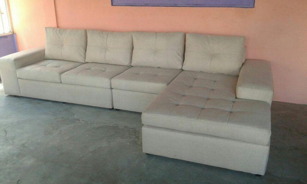Sofá moderno do tipo L