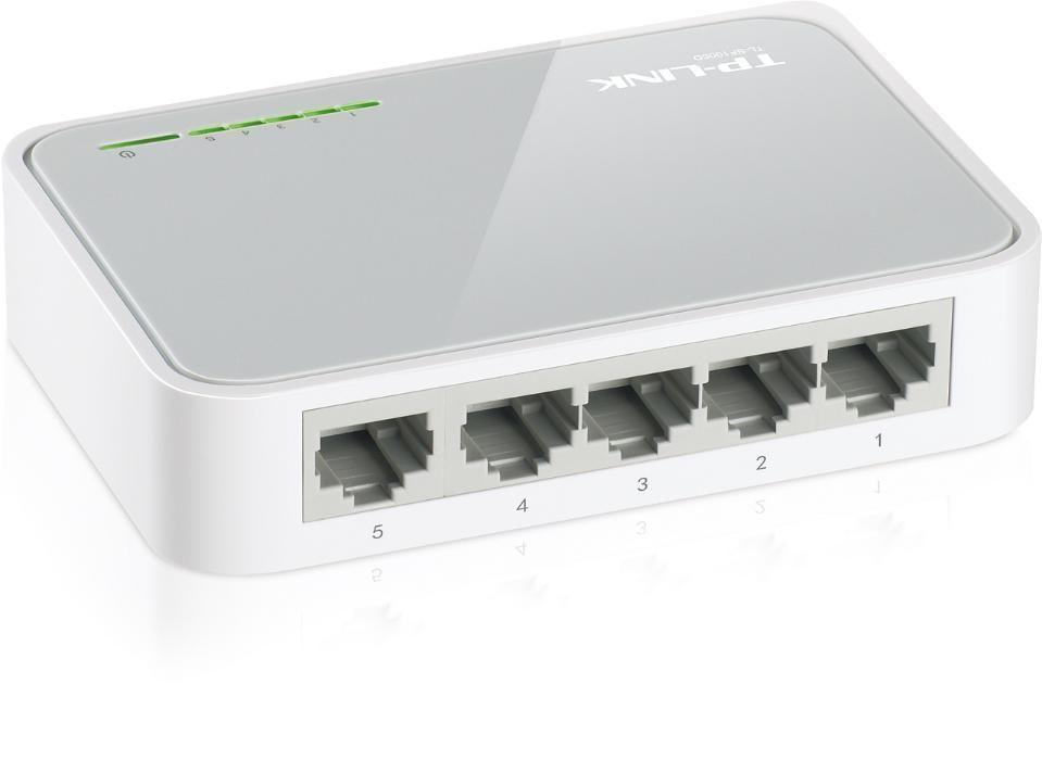 Суич TP-Link TL-SF1005D 5 порта - 17.90 лв ; 8 порта - 20,90 лв Switch