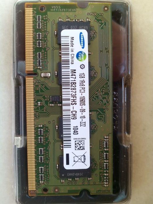 Memorie laptop 1GB DDR III 1333MHz PC 10600S