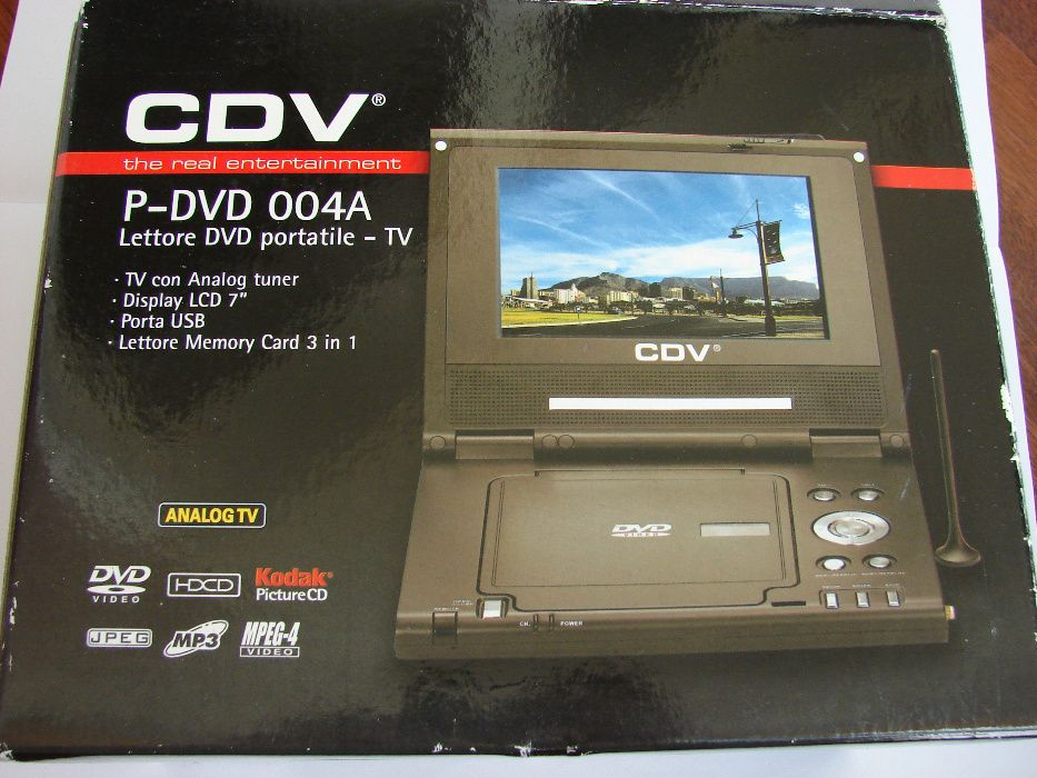 DVD player portabil nou