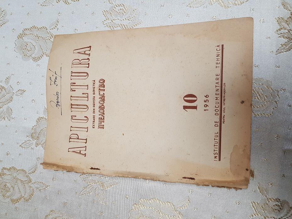 Carte veche apicultură - extrase din revista sovietică 1956