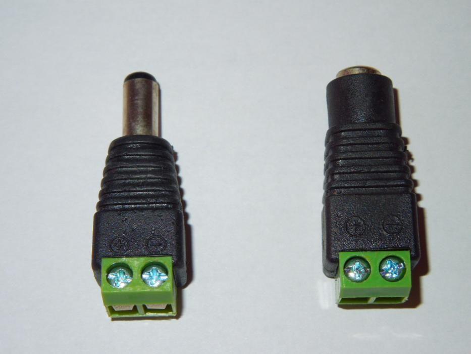 Mufe Alimentare M/T Power Balun CCTV Camere de Supraveghere Video RGB
