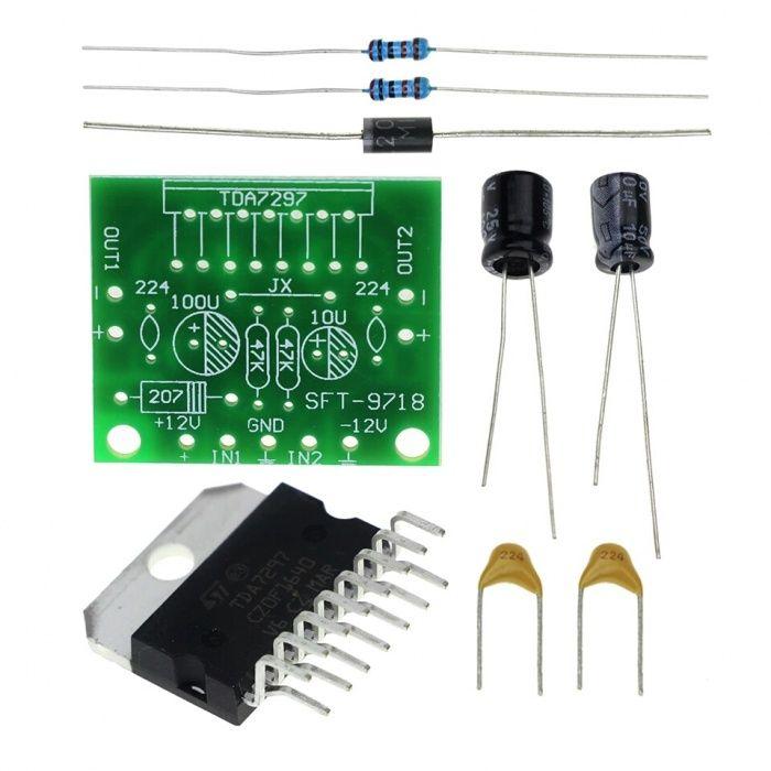 Montaj electronic începători TDA7297 Amplifier Board