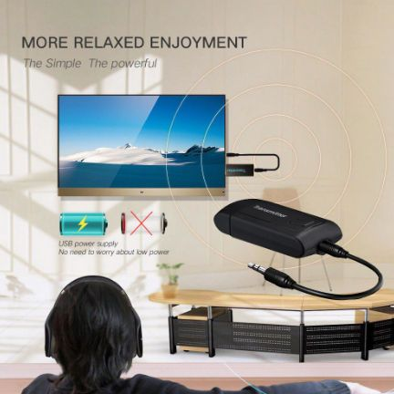 Безжичен Bluetooth предавател за PC телефон PC TV Y1X2 стерео аудио м