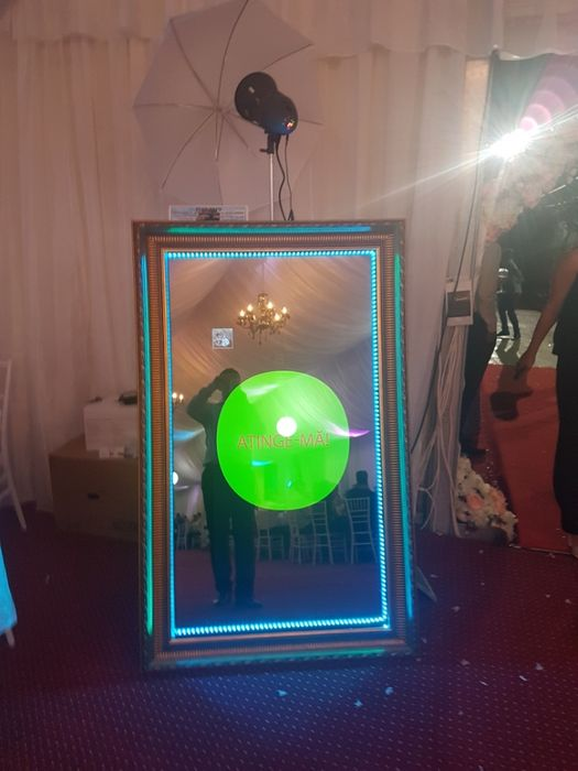 Cabina foto oglinda MIRROR PHOTO BOOTH / servicii foto-video/drona