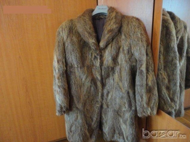 Дамско палто от нутрия
