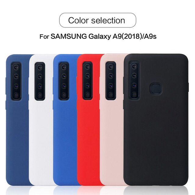 Promoção das capas silicone case para o samsung A9 2018