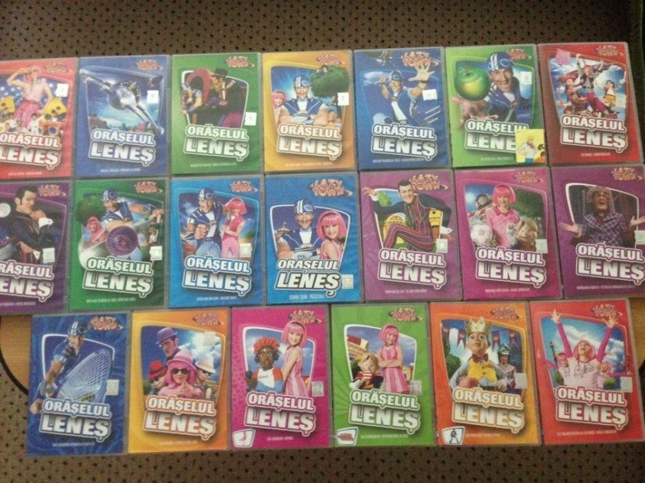 Colecția de DVD-uri Orășelul Leneș