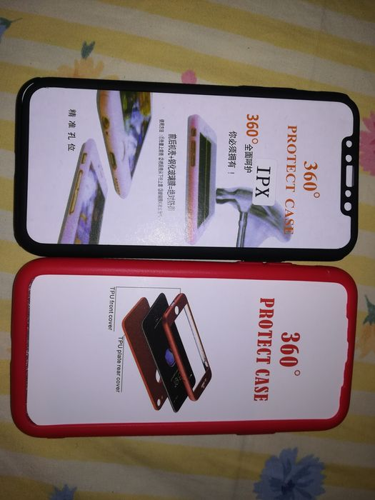 Capas iphone X 200mt