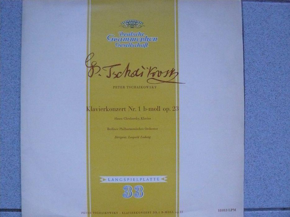 """Disc Vinil """"PETER TSCHAIKOWSKY """" Konzert Für Klavier Nr 1b-mall OP 23"""