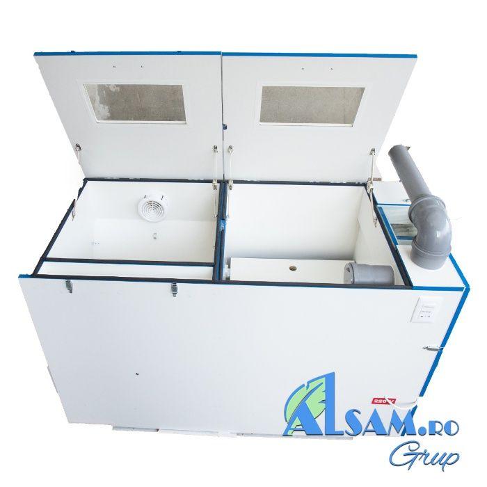 Utilaj / mașina de curatat PERNE și PILOTE -produs in Romania- ALSAM