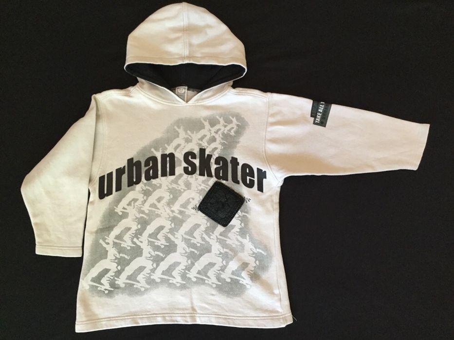 Hanorac Urban skater pt copii, baiat 5-7 ani, h 122-128 cm