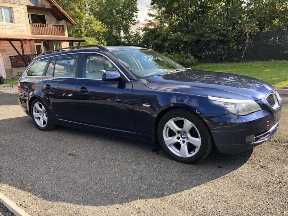 Dezmembrez BMW E61 facelift automat 2008 177 cai, piele, navi,