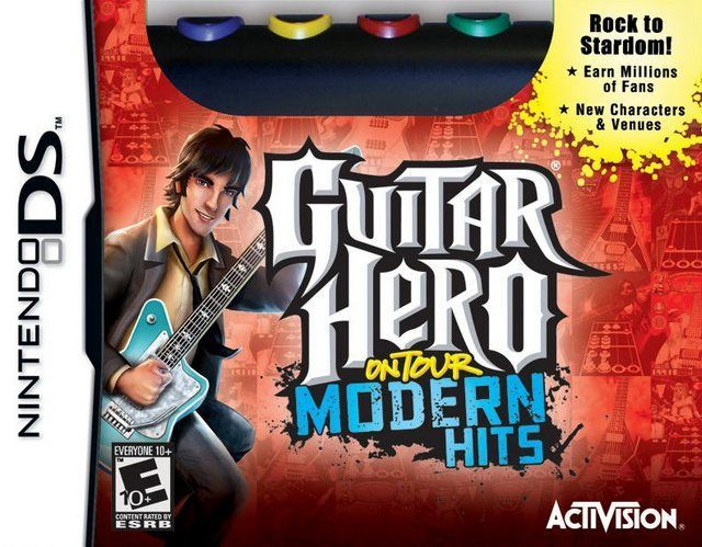 Joc Guitar Hero On Tour Modern Hits Nintendo Ds - Jocul + Guitar Grip
