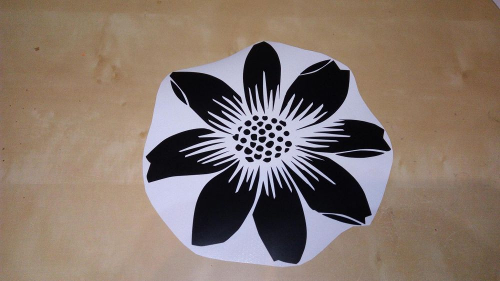 Autocolant Wall sticker - flower