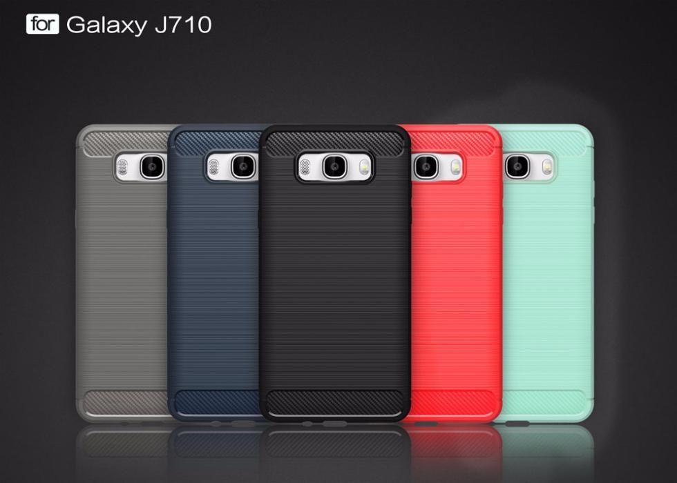 RUGGED ARMOR силиконов кейс мат за Samsung Galaxy j7 2016 J710