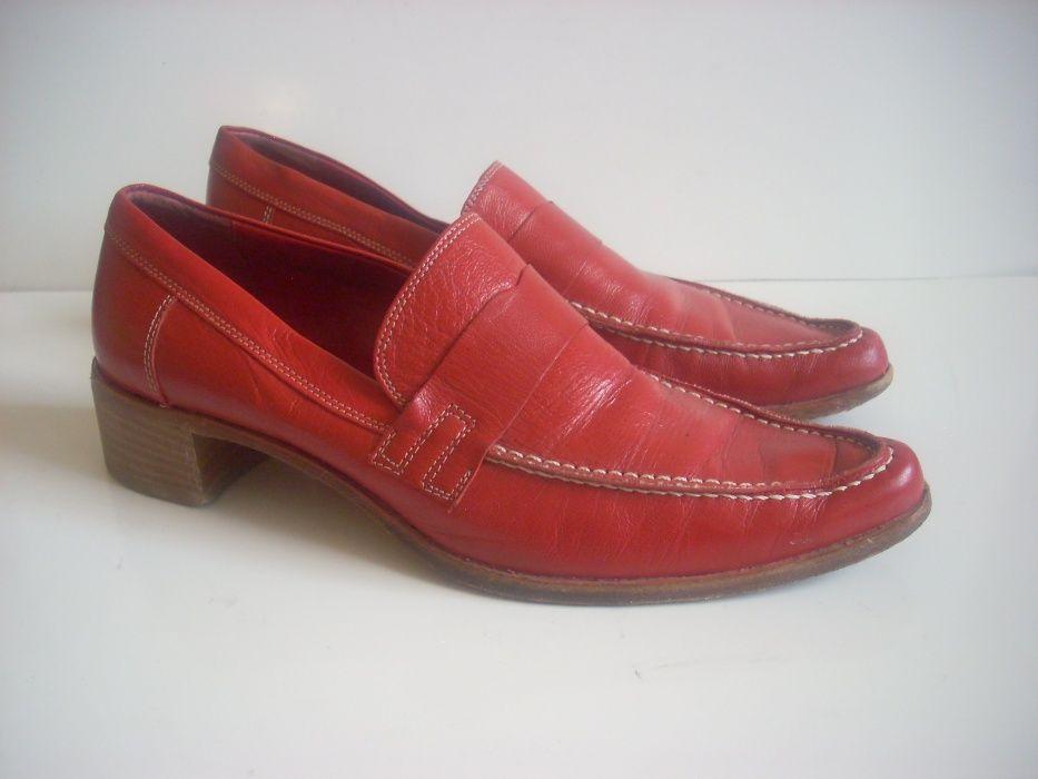 Италиански дамски обувки естествена кожа