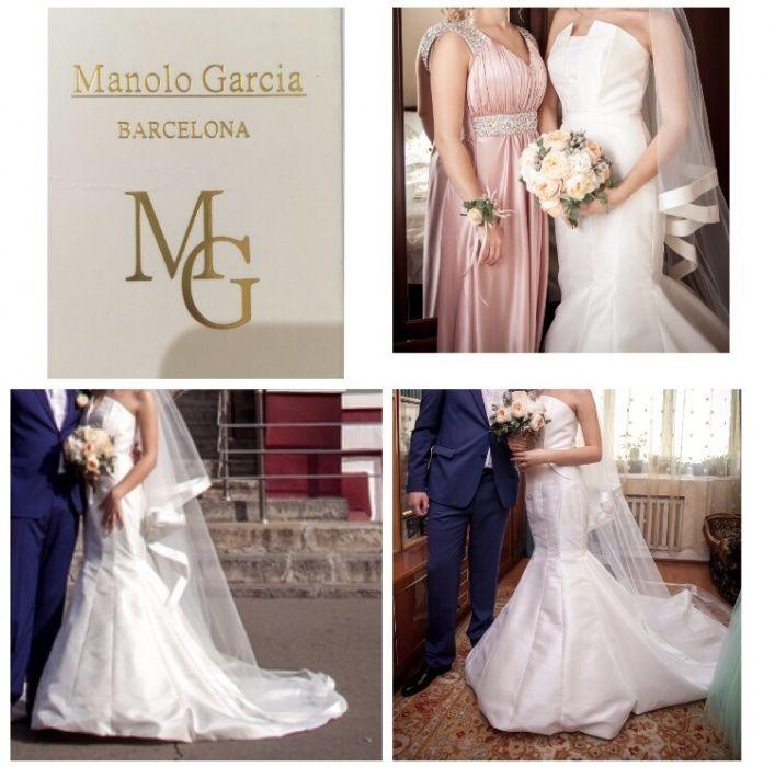 Продам свадебное платье , бренд-Manolo Garcia! В идеальном состоянии !