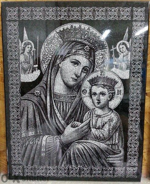 Икони и Картини от черен гранит