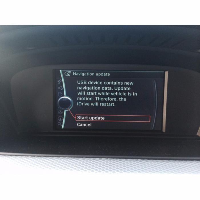 BMW USB / DVD Harta Navigatie MOVE / MOTION Europa + ROMANIA 2018-2