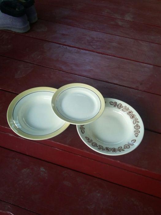 Продам тарелки советские.