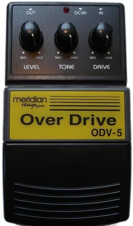 Pedala Efect Chitara Meridian Stage PRO Over Drive ODV-5
