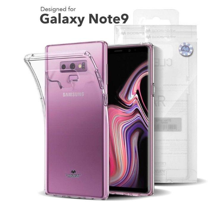 Samsung Note 8 Note 9 - Husa Ultra Slim Din Silicon Transparenta