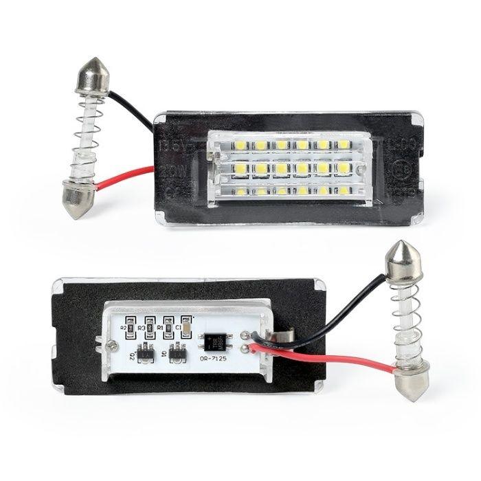 Lampi numar LED pentru Mini Cooper R56 , set 2 buc.