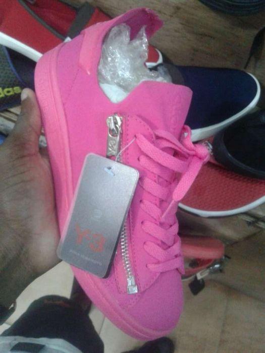 Y3 Adidas toda Rosa