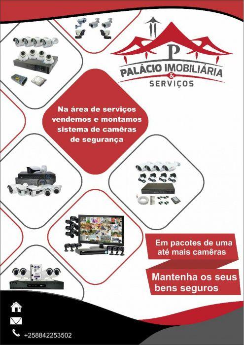 Montagem de câmeras de segurança a preços acessíveis
