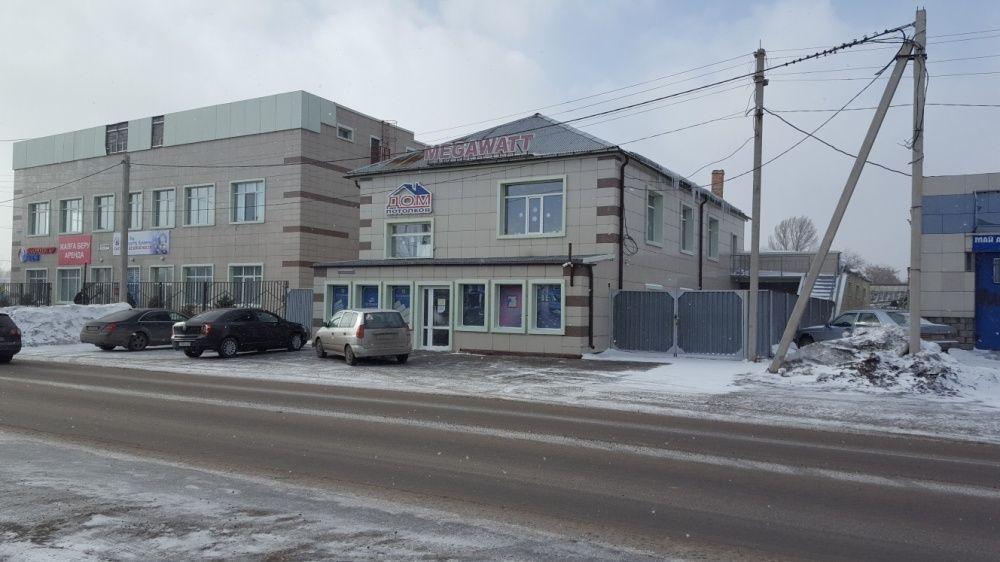 Бизнес центр с парковой и магазином