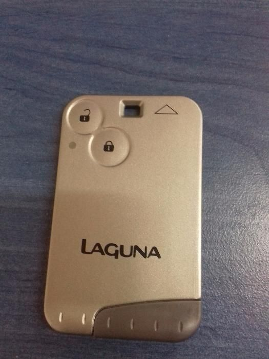 Cartela card Renault Laguna 2 butoane ID46
