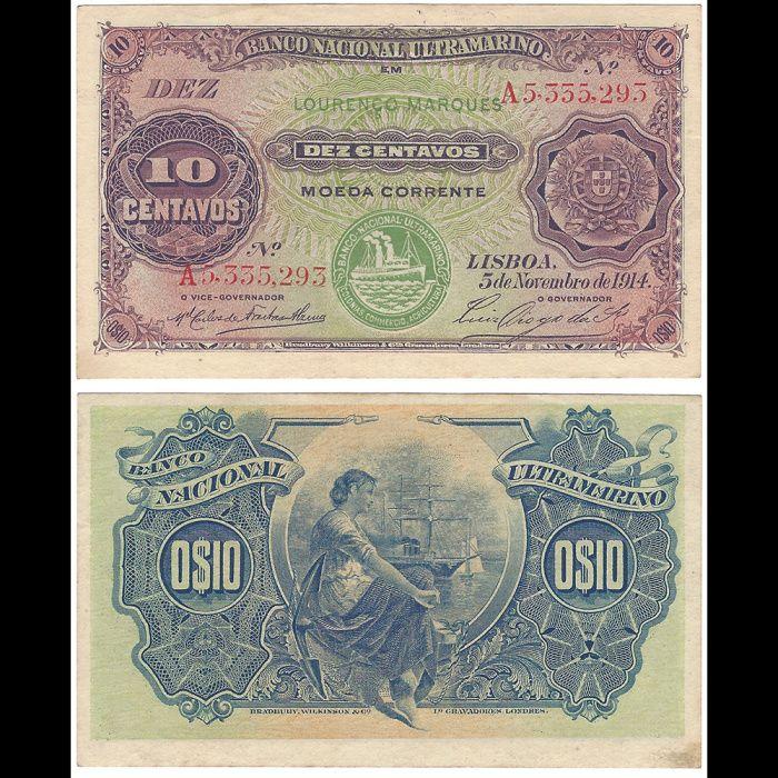 10 Centavos 1914
