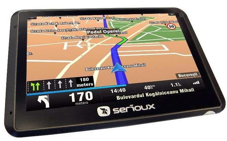 "Sistem de navigatie Serioux UrbanPilot Q550T2, diagonala 5"" Bistrita - imagine 6"