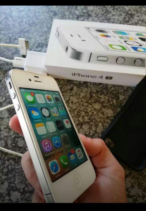 iphone 4s 16gb novo na caixa Alto-Maé - imagem 4