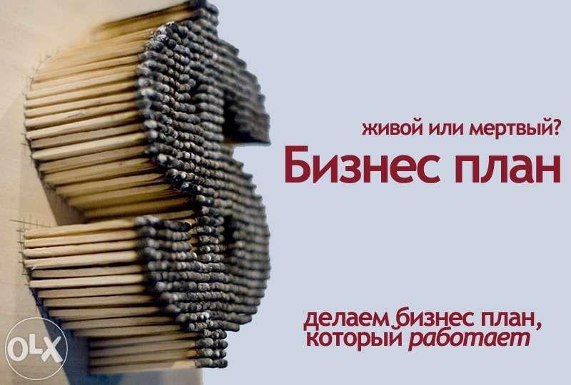 БИЗНЕС-ПЛАНЫ:разработка и сопровождение в ДАМУ и Банках