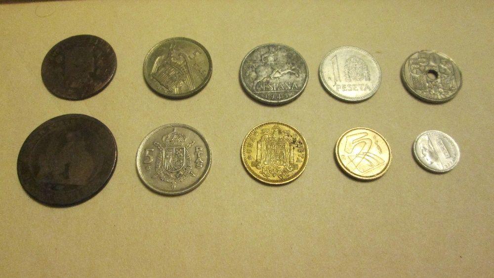 Vand 10 monede Spania