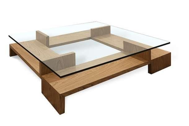 Exclusiva mesa de centro