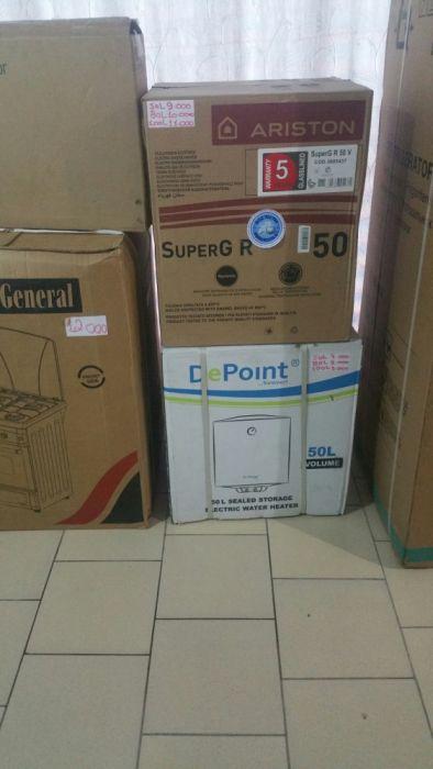 Termo acumuladores da depoint e Ariston novos na caixa com garantia