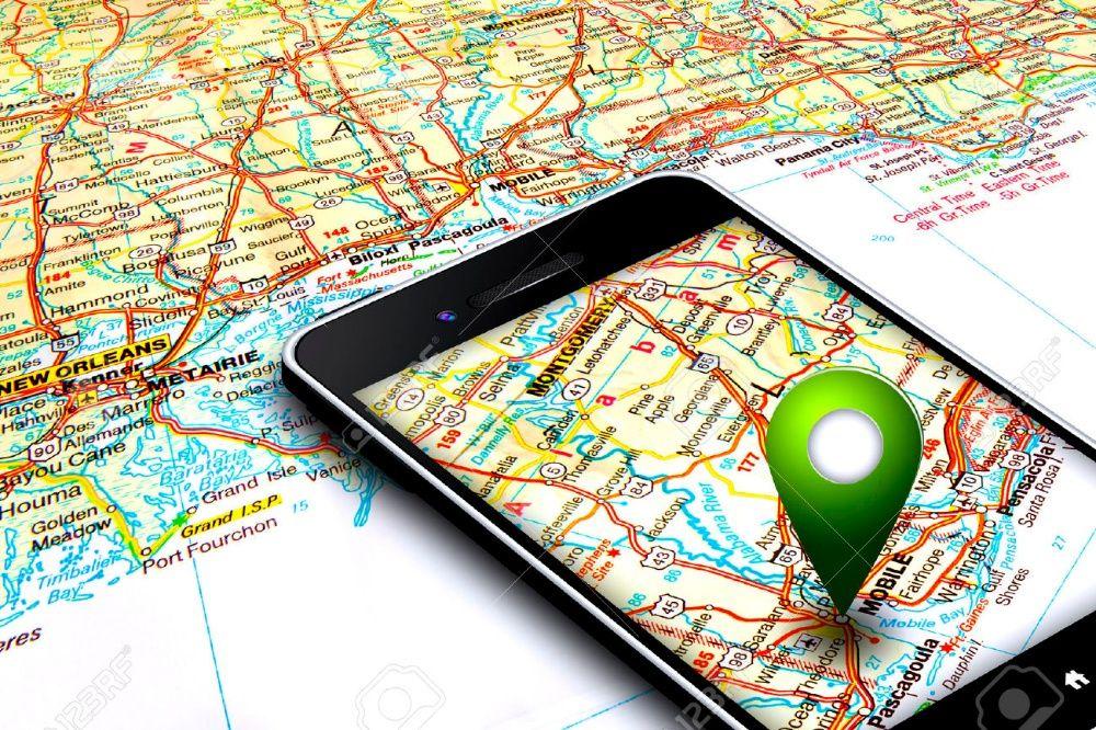 GPS com sistema de alarme