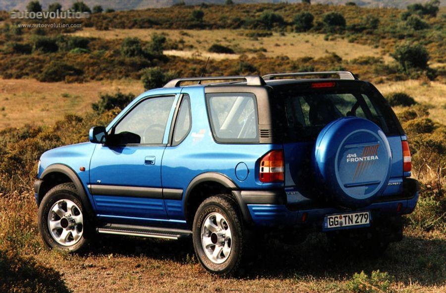 Opel Frontera къса база 2.2DTI на части 2002