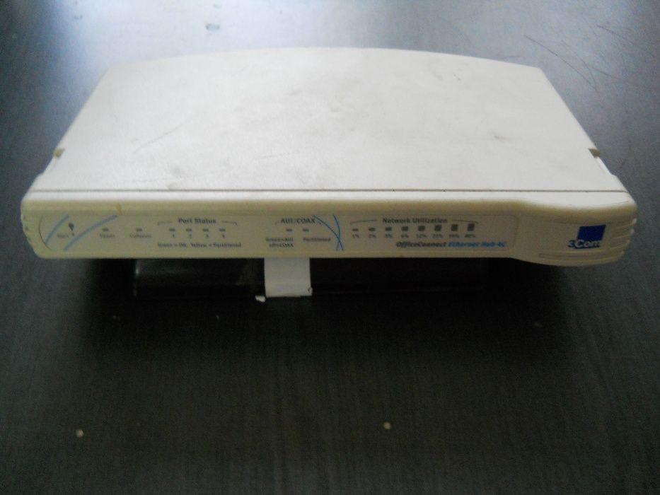 3Com OfficeConnect Ethernet Hub 4C - 4 port ethernet 1 port BNC
